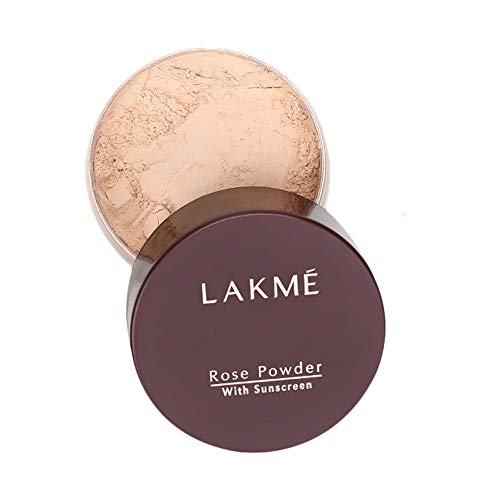 Lakme Rose Face Powder, Soft Pink, 40g