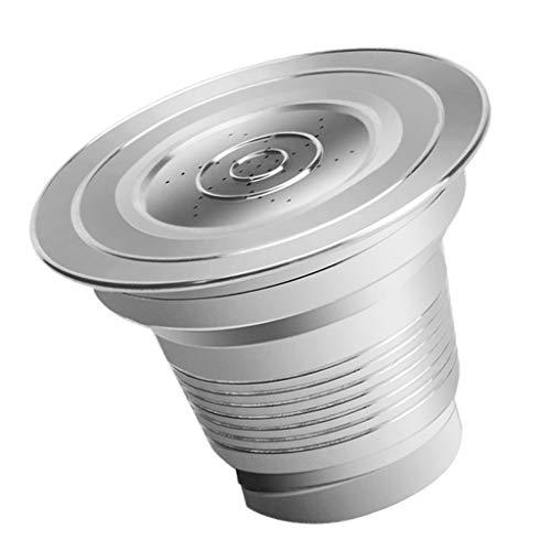 FLAMEER Filtro de Café de Cápsula de Café Reutilizable Fabricado en Acero Inoxidable para LOR