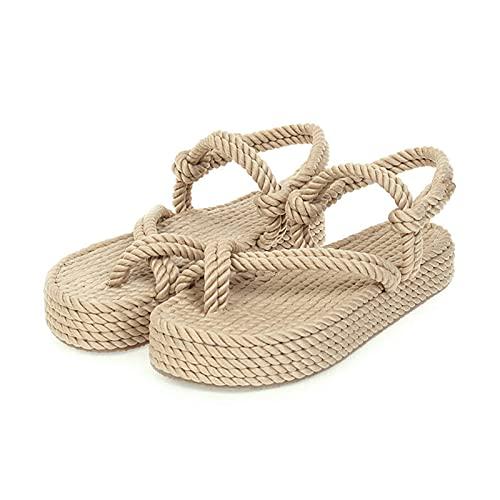 kakina Comfy Wedge Slides Sandals for Women Casual Summer Slip-on Open Toe...