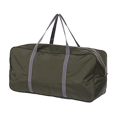 Außentasche 45L / 21L Oxford Große Reisetasche Reisen Camping Zelte Gepäckaufbewahrung Handtasche Sport Umzugstasche Wasserdicht (Color : Green, Size : L)