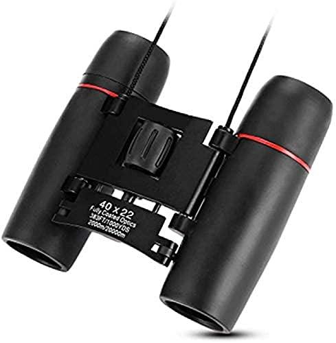 XXH 40X22 2000M / 20000M Telescopio Plegable al Aire Libre para Adultos HD Vision Prismáticos de Prisma Gran Angular