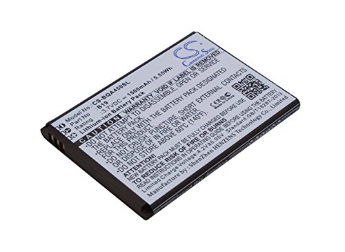 techgicoo 1500mAh/5,55wh recargable compatible con BQ Aquaris 4.5