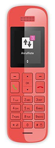 Telekom T-COM Speedphone 10 koralle OHNE Ladeschale, zum Ersatz / Erweiterung