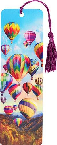 Hot Air Balloons 3-D Bookmark