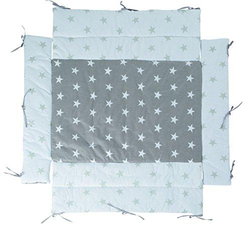 roba Universal Laufgittereinlage 'Little Stars', Laufstalleinlage für alle Laufgitter 75x100 bis 100x100 cm