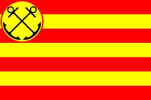 magFlags Flagge: Large Den Helder | Gemeente nl Den Helder | Querformat Fahne | 1.35m² | 90x150cm » Fahne 100% Made in Germany