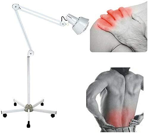 Jintaihua 275W Infrarot Lampen mit Rädern,Wärmelampe Rotlicht Lampe,Beruf Hyperthermie Lichter,Regulierbar Infrarotlichttherapie,Haushalt Behandlung,für Relief Lokale Schmerzen