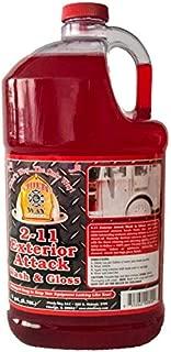 Chief's Way 2-11 Exterior Attack Wash & Gloss Auto Wash Soap - Cherry Scent (1 Gallon)
