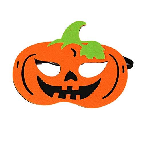 EdBerk74 Máscara de Halloween Máscara de Maquillaje de Halloween Disfraces de Disfraces de Halloween Calabaza