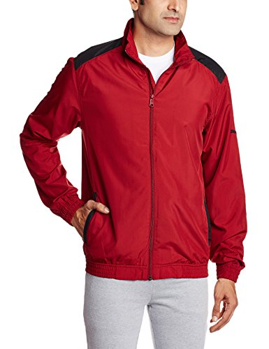 Puma Men's Woven Jacket II, Red, Small