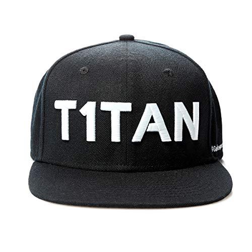 T1TAN Snapback - Unisex - One Size - Goalkeeperlifestyle - Black