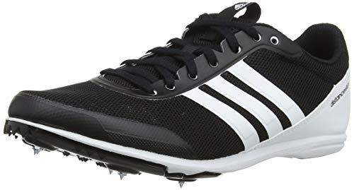 adidas Distancestar W, Zapatillas de Atletismo Mujer, Negro (Negbás/Ftwbla/Ftwbla 000), 40 EU