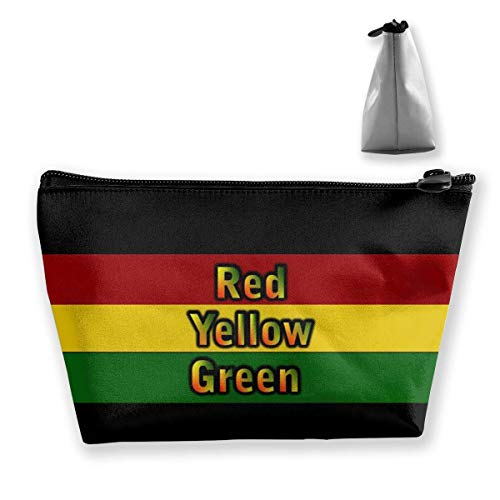 Reggae-Flaggen-Farben bilden Beutel-Kulturbeutel-Taschen-Kosmetik-Beutel