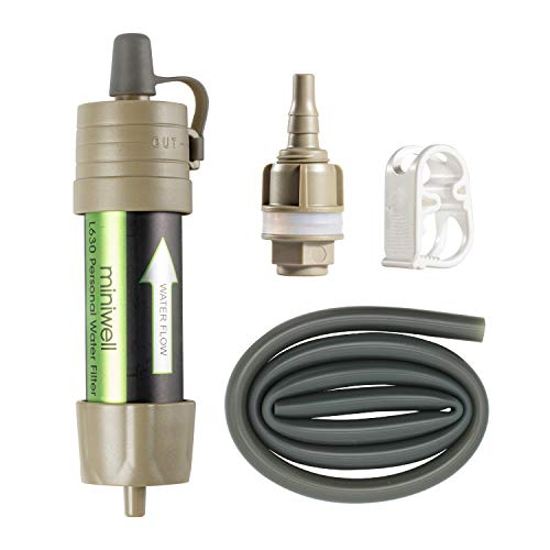 Miniwell Gravity Water Filter Straw - Key Features