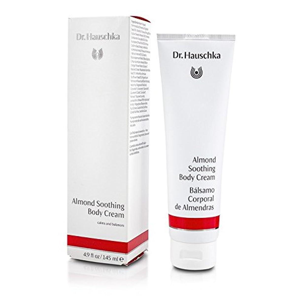 ビデオバス先住民ドクターハウシュカ Almond Soothing Body Cream 145ml/4.9oz並行輸入品