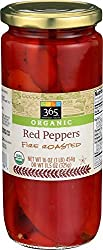 365 Everyday Value, Organic Red Peppers, Fire Roasted, 11.5 oz