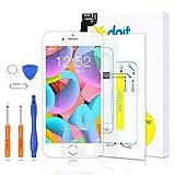 Yodoit Pantalla Completa para iPhone 6s LCD Blanco, Ensamblaje de Reemplazo del Digitalizador con Piezas de Repuesto (cámara Frontal, Botón Home) + Herramienta (4,7 Pulgadas)