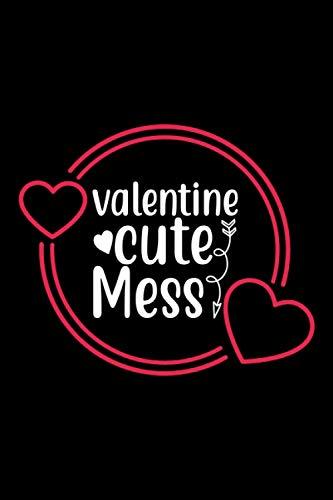 Valentine Cute Mess :: Journal,notebook, Valentine's Day Gift, Valentine's Day