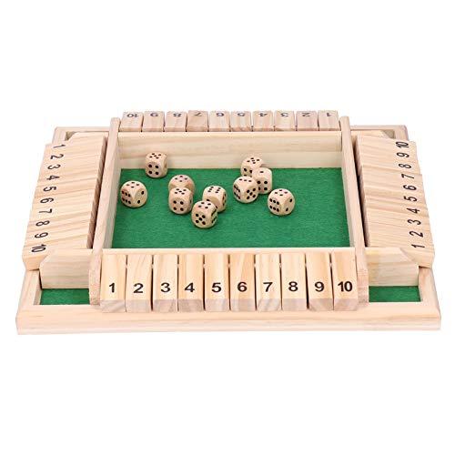 Game Disk Interessante Eltern-Kind-Brettspiel-Spaß Trinkrequisiten für 2 bis 4 Spieler für Menschen jeden Alters