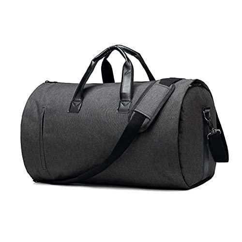 QQWW Moda Oxford panno impermeabile borsa da viaggio casual pieghevole borsa bagaglio a mano grande capacità 1023 (Colore: Nero, Dimensioni: 35cmX53cmX35m)