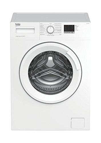 Beko WML 61023 N Waschmaschine Frontlader/6kg/A+++/1000 UpM/Mengenautomatik/elektronische Kindersicherung/15 Programme/Startzeitvorwahl/Express-Programm 30 Minuten