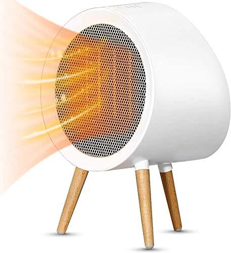 HYISHION Minicalefactor cerámico silencioso, Estufa eléctrica portátil de bajo Consumo, Calor en...
