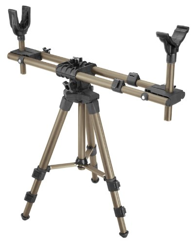 Caldwell DeadShot FieldPod Adjustable Ambidextrous Rifle Shooting Rest for...