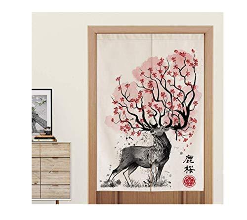 Msbvf Japanischer Stil Türvorhang Feng Shui Schlafzimmer Stoff Bildschirm Bad Toilette Ankleideraum Restaurant...
