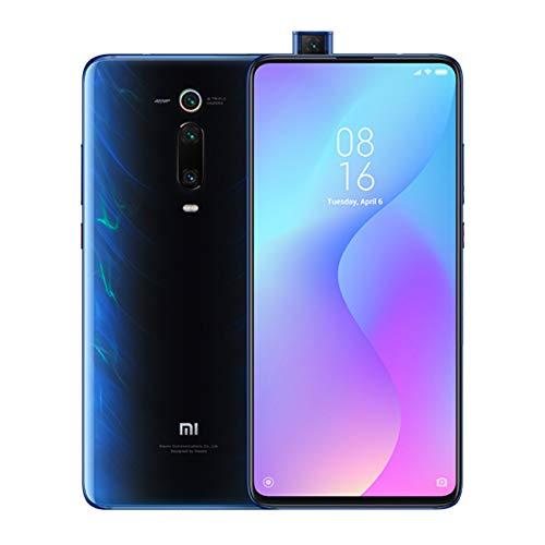 "Xiaomi Mi 9T Pro Smartphone,6GB+64GB,schermo AMOLED a schermo intero da 6,39""(Qualcomm SD 855, Selfie Pop-up,Triple Camera 13 + 48 + 8 MP, 4000 mAh,con NFC (versione globale) (Blu)"
