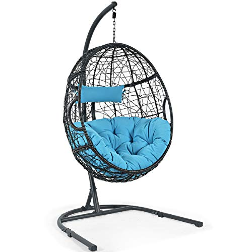 Giantex Hanging Egg Chair, Swing Chair with C...