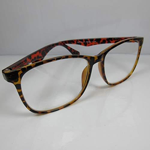 Große Herren Lesebrille +1,0 Lesehilfe M1 Flexbügel Fertigbrille Sehhilfe