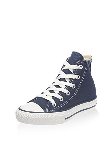 Converse Unisex-Kinder C. Taylor All Star Youth Hi 3J2 Sneaker, Blau Marine, 28 EU