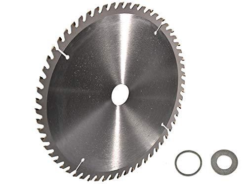 Preisvergleich Produktbild Kreissägeblatt Hartmetall 300 x 30 mm 60 Z + 2 Reduzierringe auf 25, 4 und 16 mm
