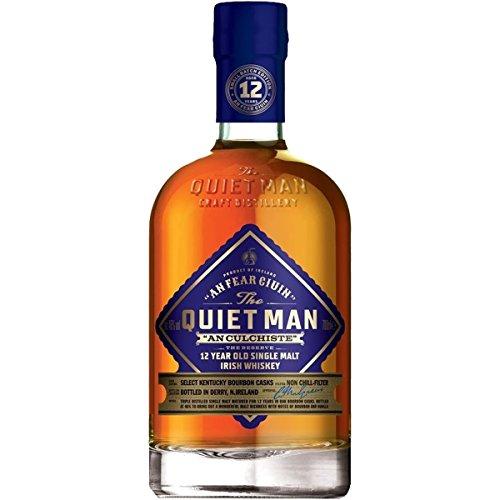 The Quiet Man An Culchiste 12 Years Old Single Malt Irish Whiskey - 700 ml