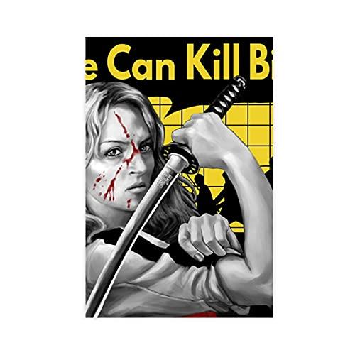 Affiche du film « Kill Bill-violence Aesthetics » pour salon, chambre à coucher, décoration murale, 24 toiles imprimées