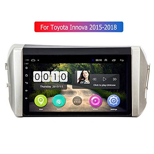 Dscam Android Car Stereo System 10 inch Touch Screen GPS Navigation Quad Core for Toyota Innova Headunit Car Radio Bluetooth WiFi Mirrorlink Rear Camera Input SWC Car DVD Player -  8011649165748