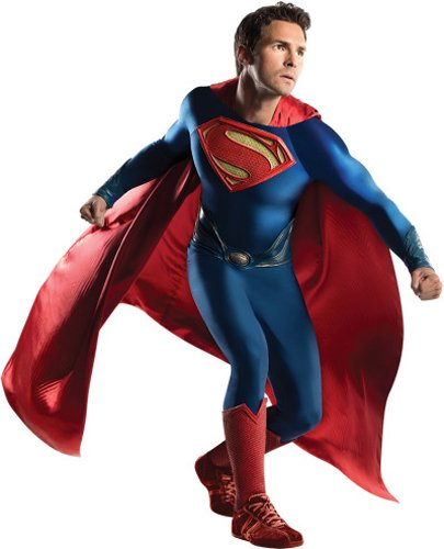Rubie's Costume Co Men's Superman Man Of Steel Grand Heritage Costume, Multi, One Size