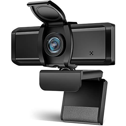 WEBカメラ Wansview ウェブカメラ フルHD 1080P 200万画像 高画質 90°広角 パソコンPCカメラ USB2.0 30FPS 内蔵マイク 動画配信 会議 ゲーム実況 授業カメラ ビデオ通話用 Skye,Zoom,Windows XP7810,Mac OS X, Android TVに対応