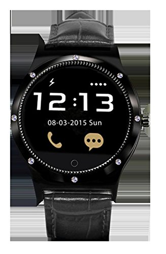 Swiss-280113 Smartwatch zwart