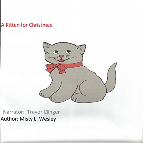 A Kitten for Christmas audiobook cover art