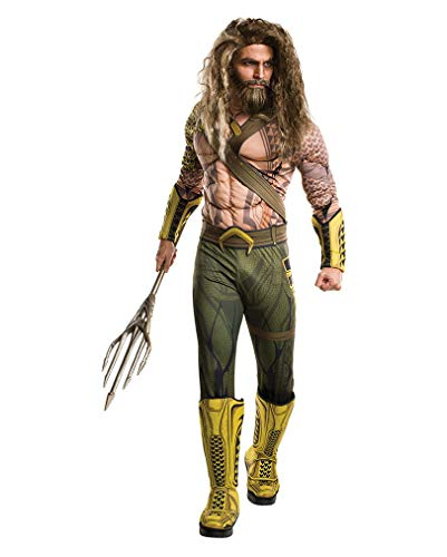Horror-Shop Batman v Superman Aquaman DLX Kostüm One Size 48-54