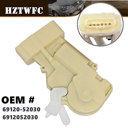 HZTWFC Nouvel actionneur de verrouillage de porte avant gauche 6 broches OEM # 69120-52030 6912052030 pour 01-05 & 00-05 Echo