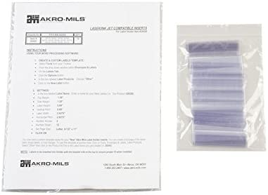 Akro-Mils Card Stock Holder - For 30110 30120 Store Use 30124 With: Max 75% OFF