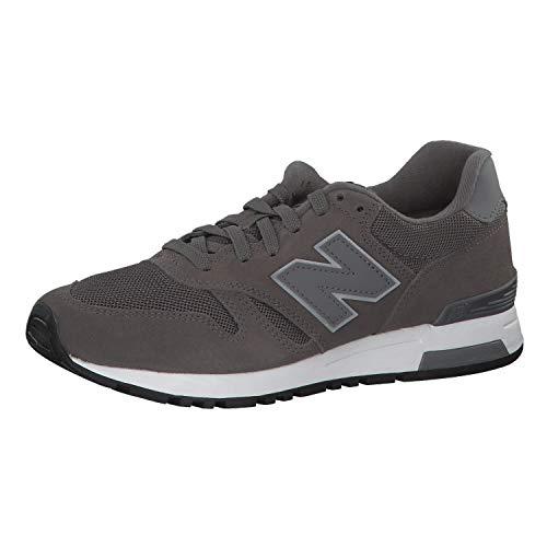 New Balance Herren 565 Sneaker, Grau (Castlerock), 40.5 EU