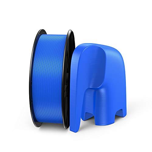 LABISTS Filamento PLA 1.75mm 1kg para Impresira 3D, Filamentos PLA Azul con Orificio de Rollo de Tamaño Estándar, sin Enredos, Envasado al Vacío, Diámetro de Tolerancia +/- 0,02 mm