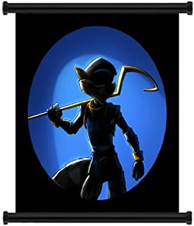 Sly Cooper: Thieves in Time Game Fabric Wall Scroll Poster (16