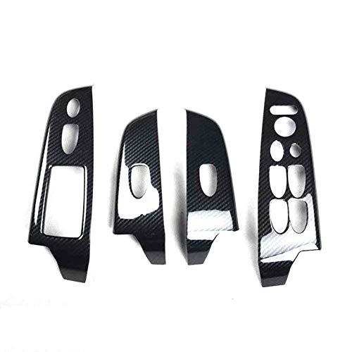 NUIOsdz ABS LHD und RHD Autotür Armlehne Fensterheber Schalterabdeckung, Für Honda Civic 8th Gen 2006-2011