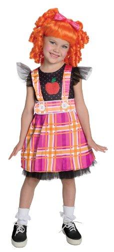 Lalaloopsi Bea Spells a Lot Puppe Girl Mädchen Kinder Fasching Karneval Kostüm Costume 122-140
