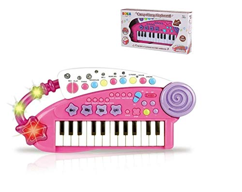 SOKA® Carry Along Keyboard For Children - Kids Toy Piano Musical...
