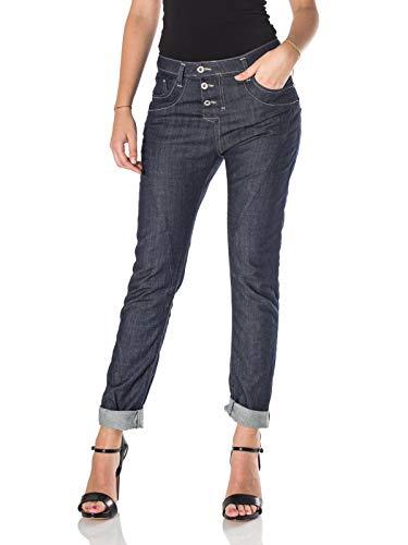 Please Baggy Jeans für Damen Klein Dunkelblau